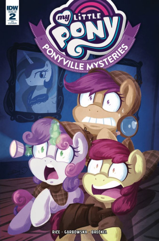 My Little Pony: Ponyville Mysteries #2 (10 Copy Cover)
