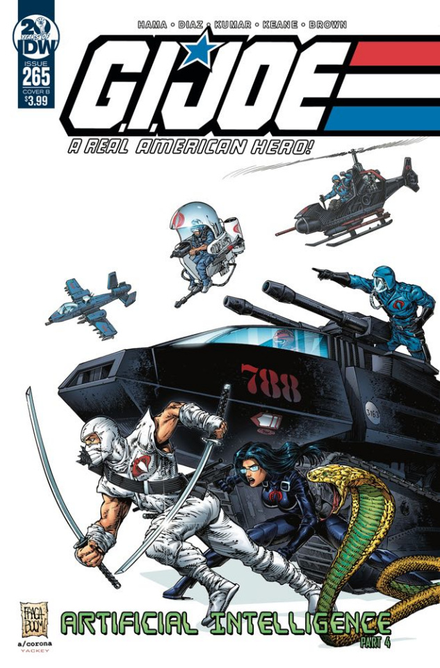 G.I. Joe: A Real American Hero #265 (Fraga Cover)
