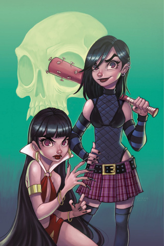 Hack/Slash vs. Vampirella #5 (10 Copy Virgin Cover)