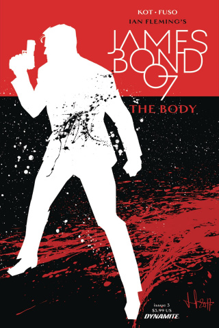 James Bond: The Body #3 (Casalanguida Cover)