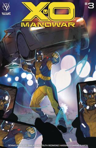 X-O Manowar #3 (Ward Cover)