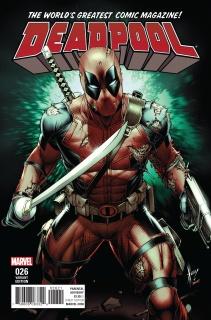 Deadpool #26 (Keown Cover)