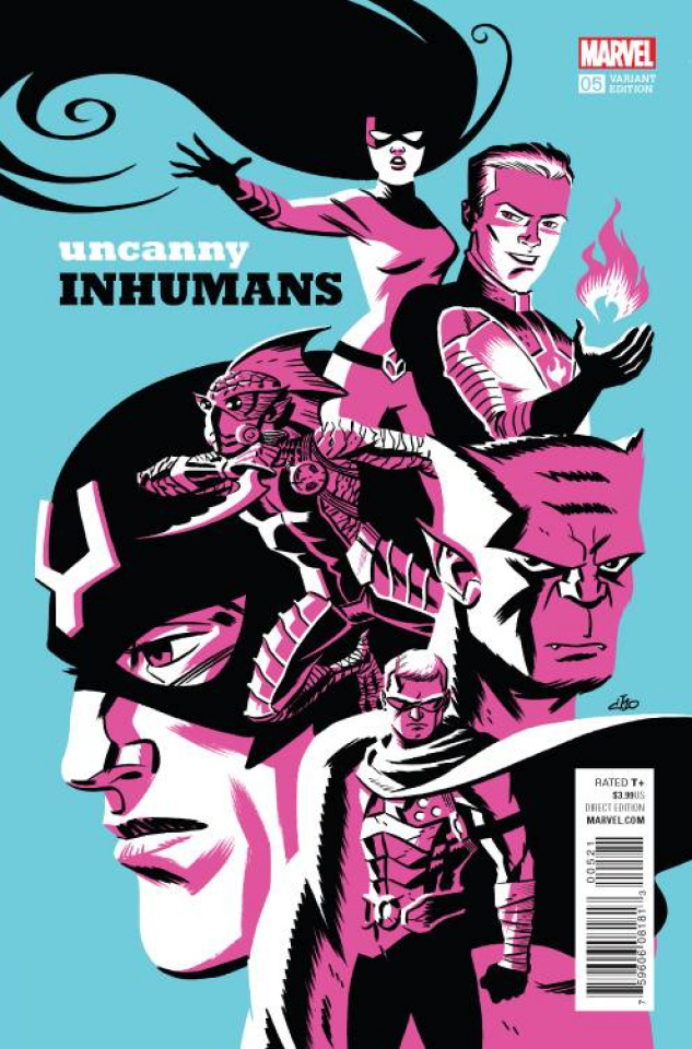 The Uncanny Inhumans #5 (Cho Cover)