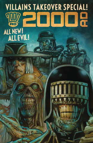 2000 AD: Villains Takeover Special!