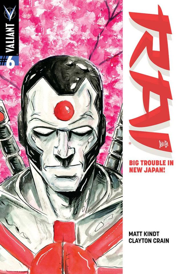 Rai #6 (25 Copy Lemire Cover)