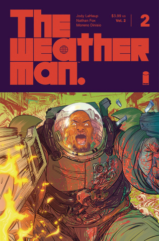 The Weatherman #2 (Fox Cover)