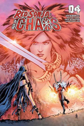 Red Sonja: Age of Chaos #4 (Lau Bonus Cover)