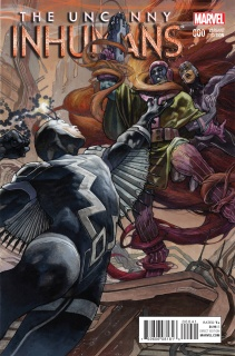 The Uncanny Inhumans #0 (Bianchi Cover)