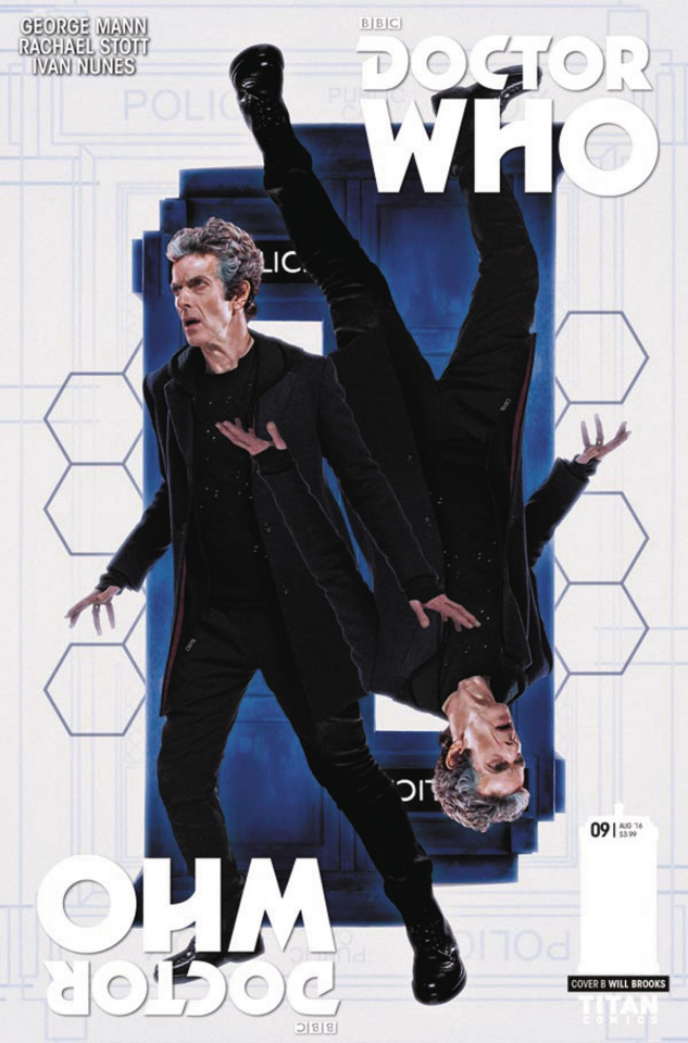 Doctor Who: New Adventures with the Twelfth Doctor, Year Two #9 (Photo Cover)