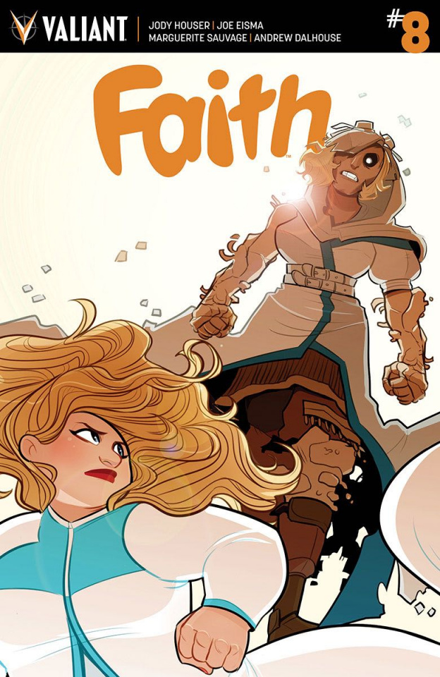 Faith #8 (10 Copy St. Onge Cover)