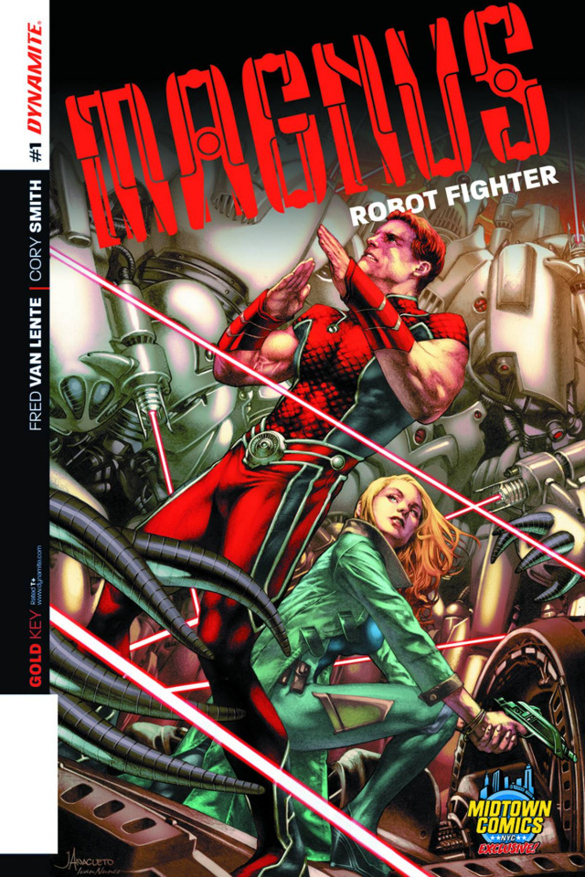 Magnus, Robot Fighter #1 (Midtown Comics Cover)