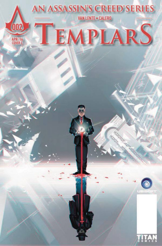 Assassin's Creed: Templars #2 (Glass Cover)