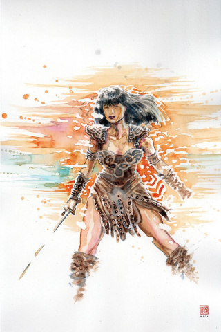 Xena: Warrior Princess #4 (10 Copy Mack Virgin Cover)