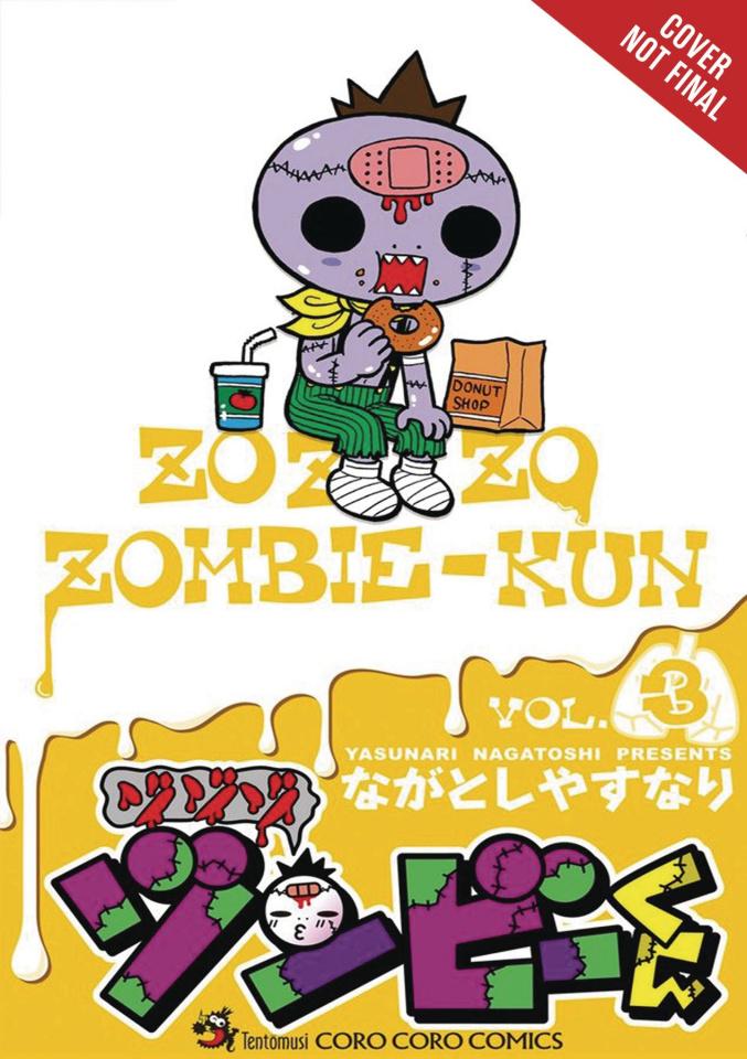 Zo Zo Zombie-Kun Vol. 3