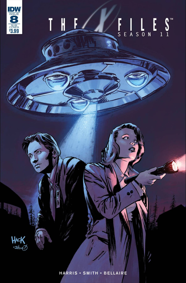 The X-Files, Season 11 #8 (Subscription Cover)
