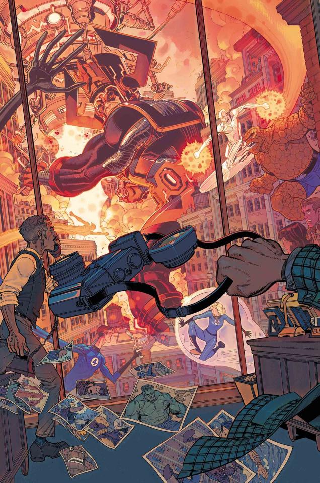 Fantastic Four #11 (Bradhsaw Marvels 25th Anniversary Tribute)
