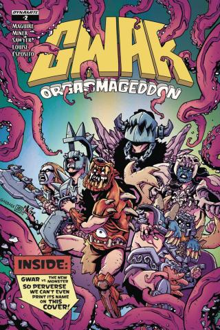 GWAR: Orgasmageddon #2 (Sawyer Cover)