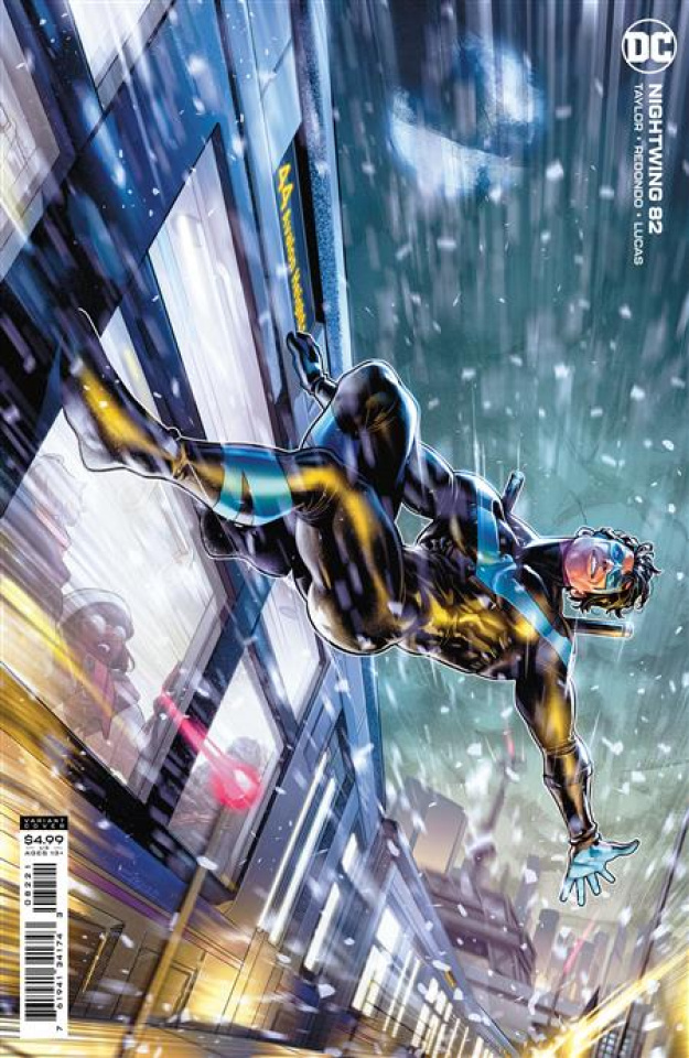 Nightwing #82 (Jamal Campbell Card Stock Cover)