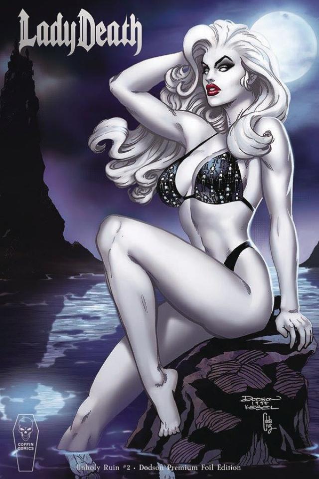 Lady Death: Unholy Ruin #2 (Dodson Foil Cover)
