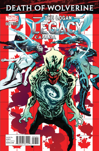 Death of Wolverine: The Logan Legacy #7 (Canada Cover)