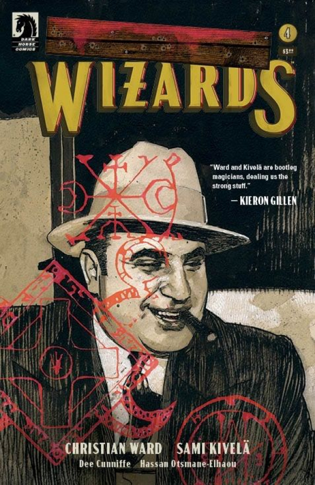 Tommy Gun Wizards #4 (Walta Cover)