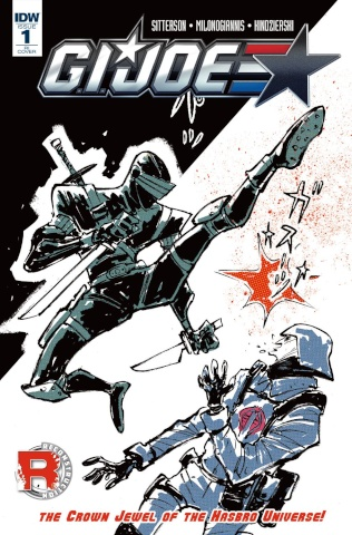 G.I. Joe #1 (25 Copy Cover)