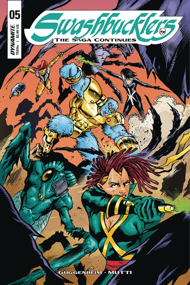 Swashbucklers: The Saga Continues #5 (Mutti Cover)