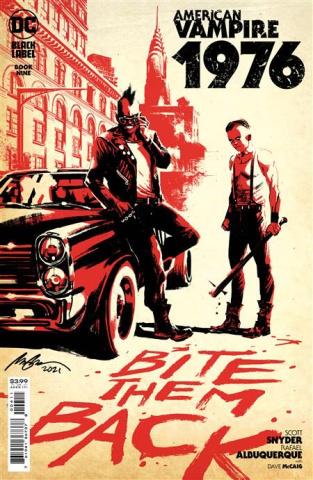 American Vampire: 1976 #9 (Rafael Albuquerque Cover)