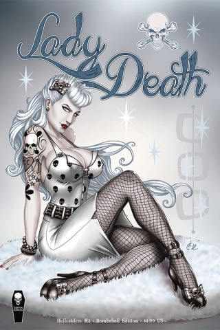 Lady Death: Hellraiders #1 (Bombshell Cover)