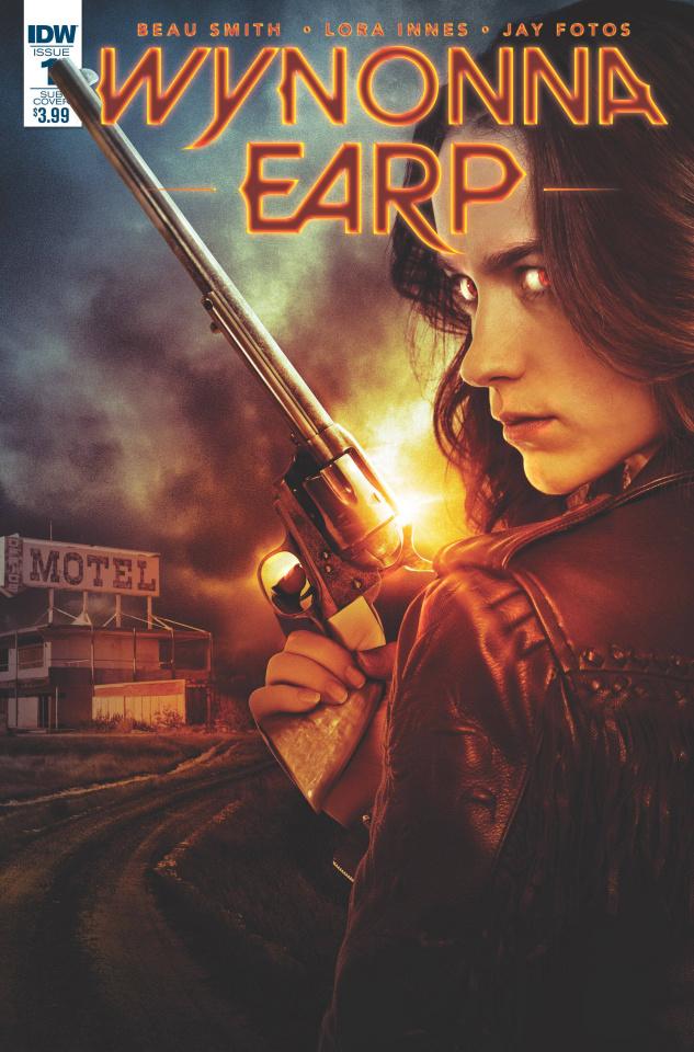 Wynonna Earp #1 (Subscription Cover)
