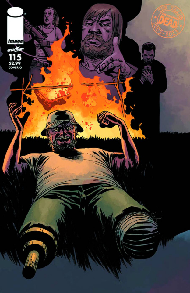 The Walking Dead #115 (Cover G)