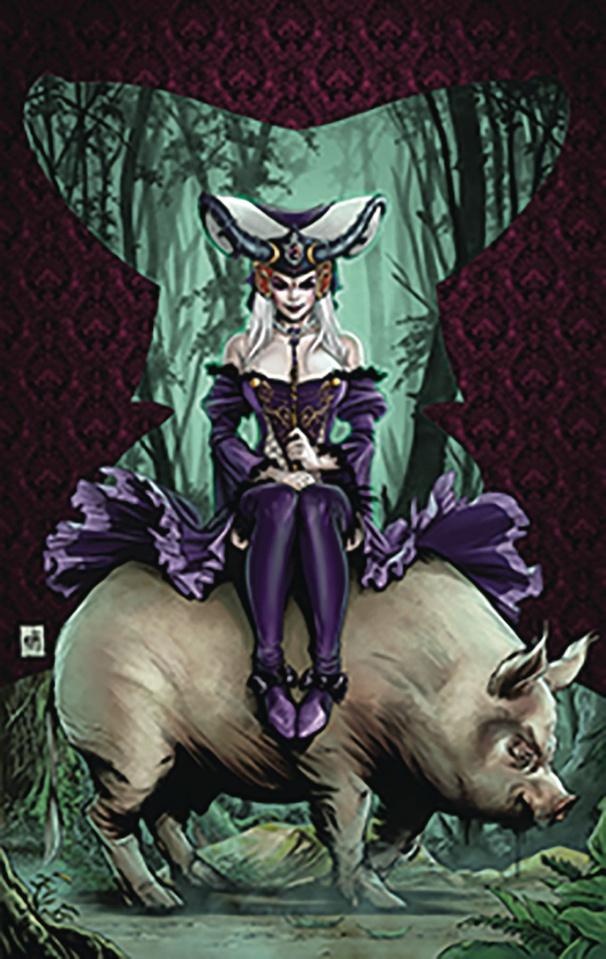 Revenge of Wonderland #1 (Krome Cover)