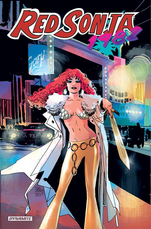Red Sonja: 1982 (Dani Cover)