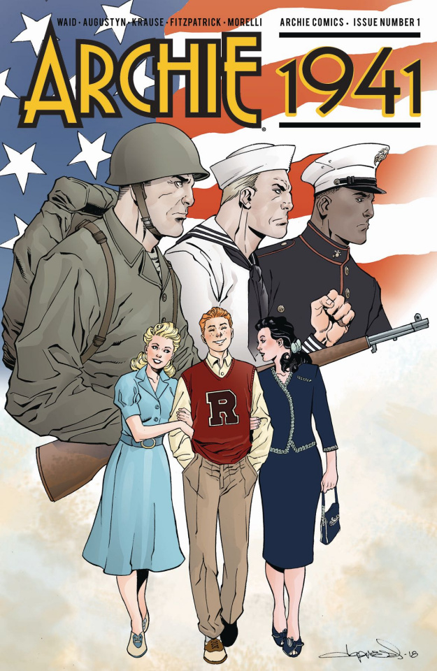 Archie: 1941 #1 (Lopresti Cover)