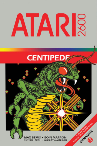 Centipede #2 (Classic Game Art Cover)