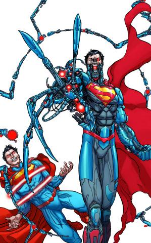 Action Comics #23.1: Cyborg Superman