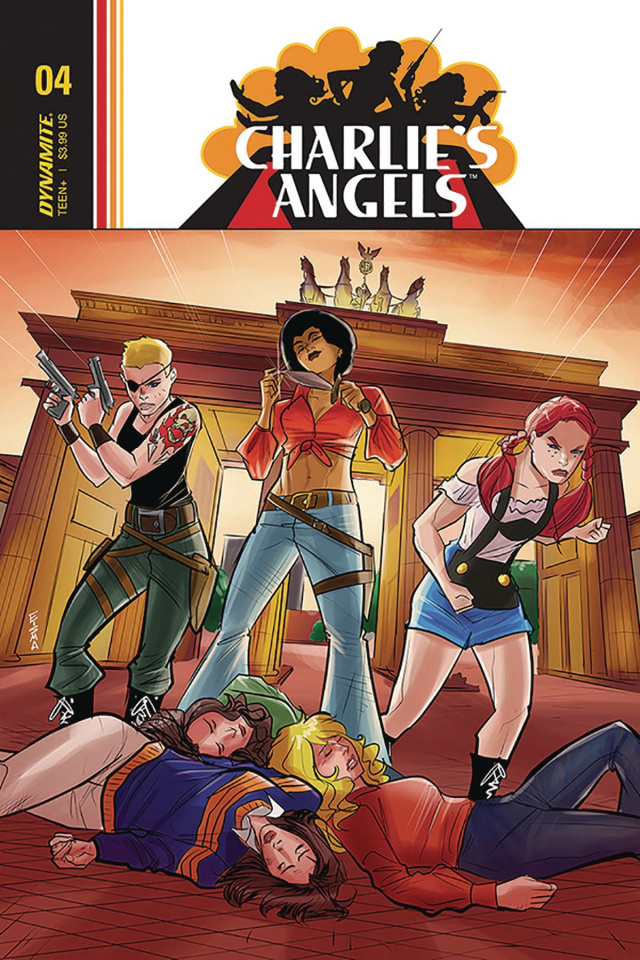 Charlie's Angels #4 (Eisma Cover)