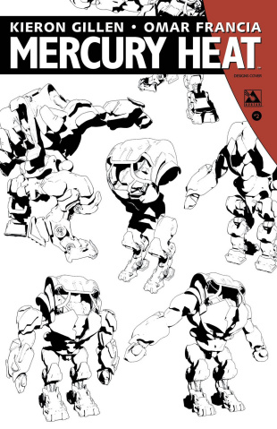 Mercury Heat #2 (Designs Cover)