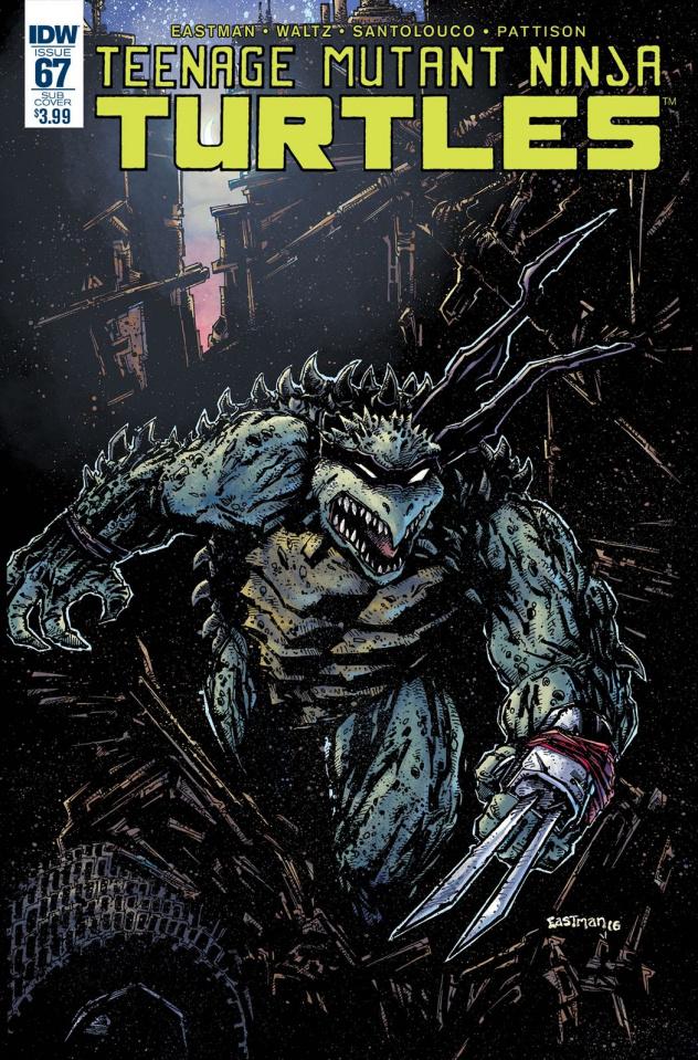 Teenage Mutant Ninja Turtles #67 (Subscription Cover)