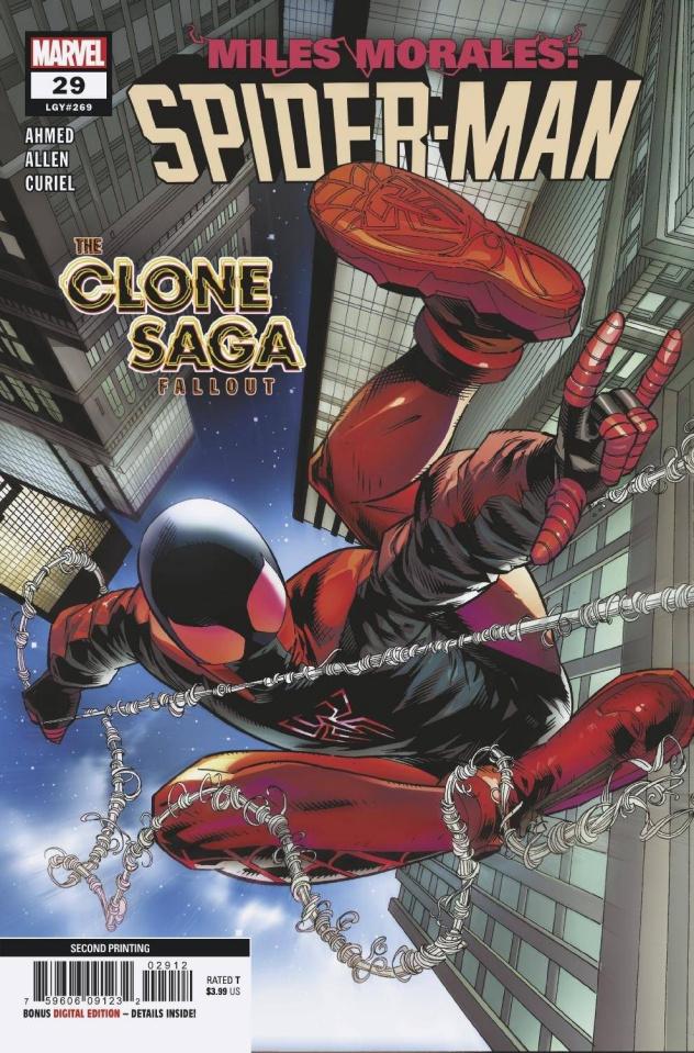 Miles Morales: Spider-Man #29 (2nd Printing)