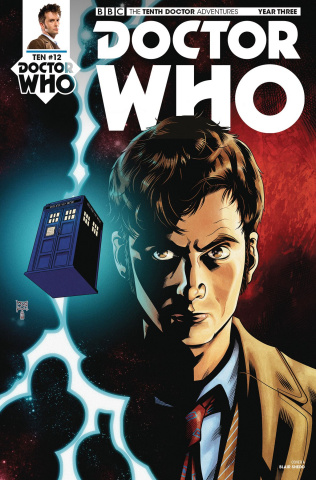 Doctor Who: New Adventures with the Tenth Doctor, Year Three #12 (Shedd Cover)