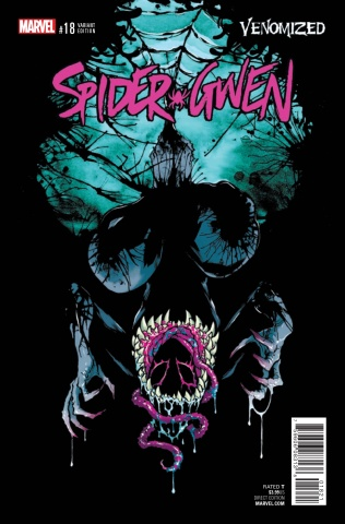 Spider-Gwen #18 (Campbell Venomized Cover)