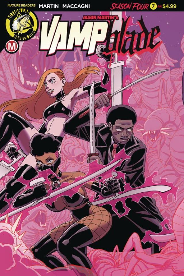 Vampblade, Season Four #7 (Young Cover)