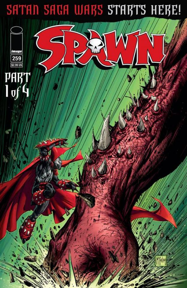 Spawn #259 (McFarlane & Friends Cover)