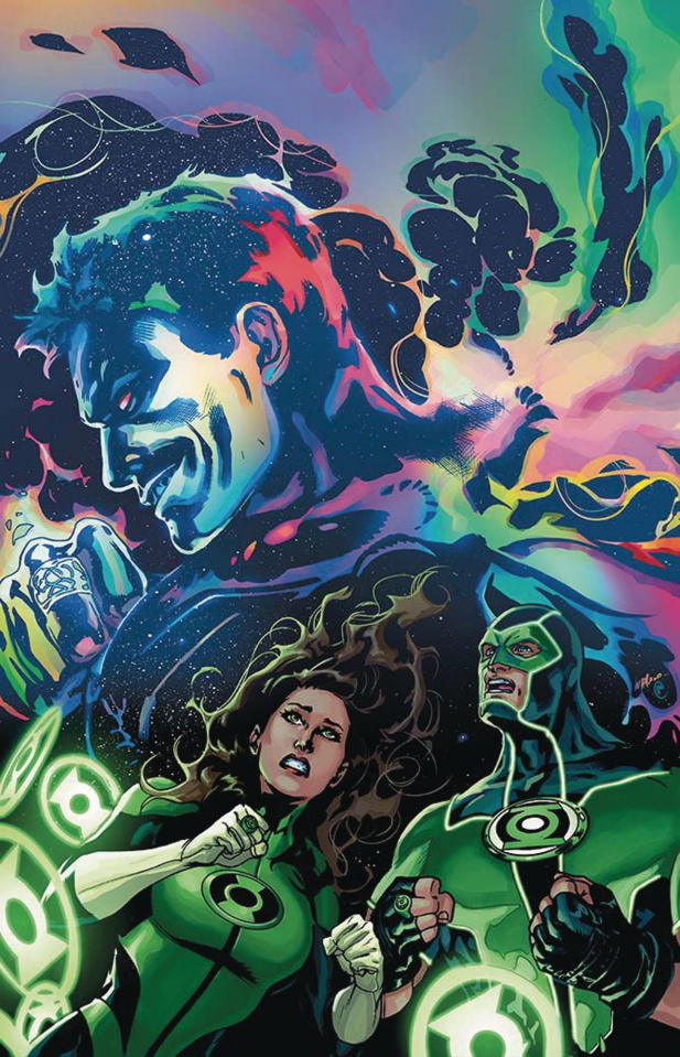Green Lanterns #12 (Variant Cover)