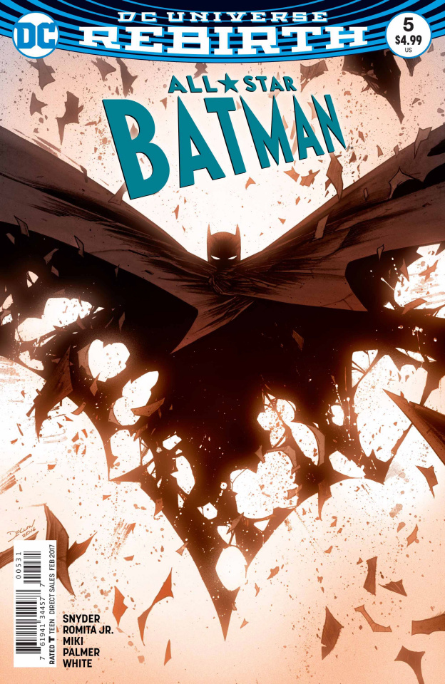 All-Star Batman #5 (Shalvey Cover)