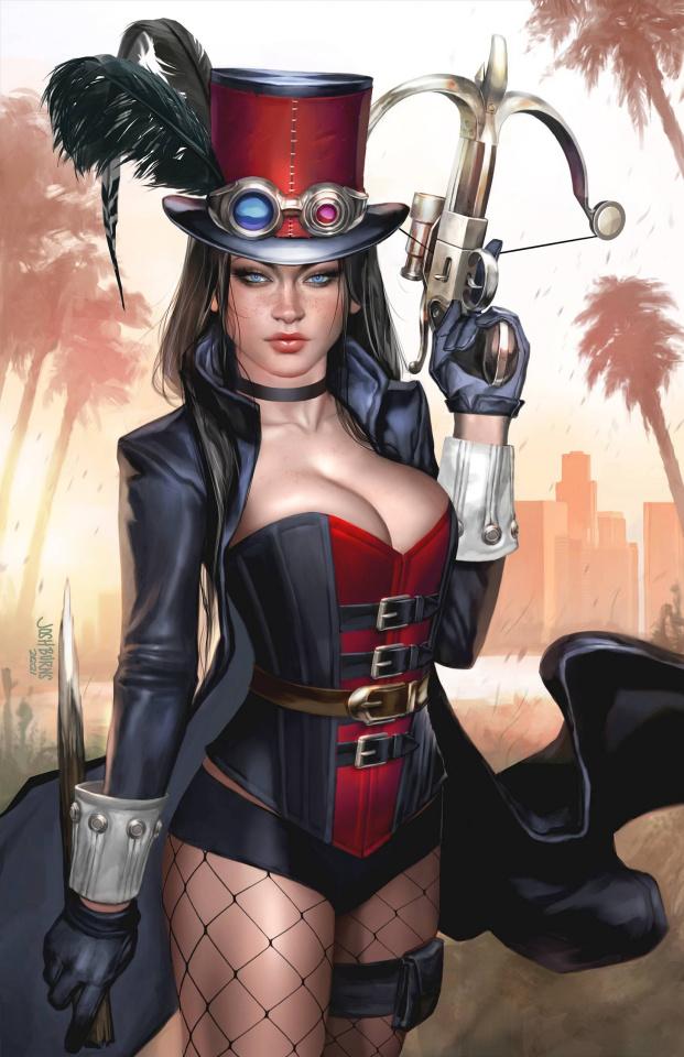 Van Helsing: Steampunk (Burns Cover)