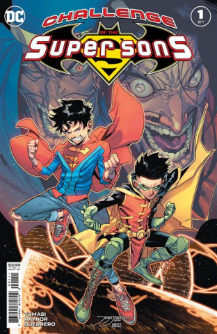 Challenge of the Super Sons #1 (Jorge Jimenez Cover)