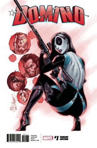 Domino #1 (J. Scott Campbell Cover)