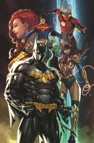 Future State: Justice League #1 (Kael Ngu Card Stock Cover)